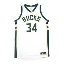 Giannis Antetokounmpo Adidas Milwaukee Bucks Authentic On-Court Home Jersey 2XL