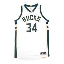 Giannis Antetokounmpo Adidas Milwaukee Bucks Authentic On-Court Home Jersey 3XL