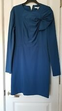 diana von furstenberg short navy dress, size 6 $370