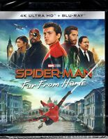 Spider-Man. Far from home 4K Ultra HD (2019) 2 Blu Ray