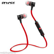 Wireless Bluetooth Headset SPORT Stereo Headphone Earphone for iPhone Samsung LG