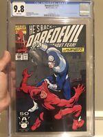 Daredevil #290 CGC 9.8 NM/MT Kingpin & Bullseye App. L@@K!
