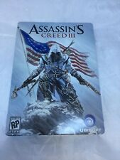 Assassin's Creed III 3 Steelbook Limited Edition Xbox 360 with game