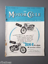 R&L Mag: The Motorcycle 24 November 1949, Autocycle & Sidecar/Norton Twin Engine
