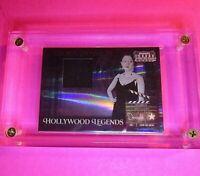 Gloria Swanson 2007 Donruss Americana Hollywood Legends Custume Relic Swatch SP