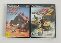 ATV Offroad Fury ATV Offroad Fury 2 PS2 Game Lot