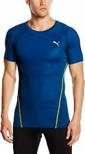 PUMA Mens T-Shirt ACTV Pwr Shoulders tea Poseidon, XL