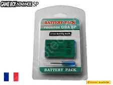 Batterie pour Nintendo Gameboy Advance SP, GBA SP +Tool rechargeable 850mAh 3,7v