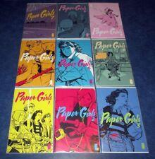 PAPER GIRLS #1 2 3 4 5 6 7 8 9 1st print set BRIAN K. VAUGHAN saga iMAGE COMIC