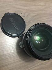 Nikon Lens Nikkor 28mm 1:3.5 - Good Condition
