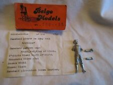 Figurine kit 54mm BELGO Models. Joueur de Baseball, US Army 1944 - (1/35e)