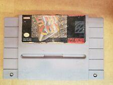 SimCity Sim City SNES (Super Nintendo Entertainment System, 1991)