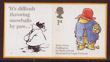 GREAT BRITAIN 2005 ANIMAL TALES PADDINGTON SELF/AD.UNMOUNTED MINT