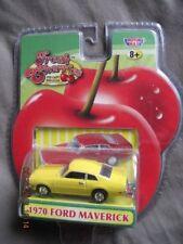 1970 FORD MAVERICK Yellow Fresh Cherries Motor Max 1/64 Scale Diecast SEALED