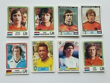 Panini World Cup Story stickers collection choose your best player Mint maradona