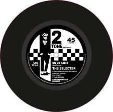 "Ska 2Tone Printed Cut Exterior Vinyl 7"" 178mm Decals The Selecter On My Radio x2"