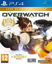 Overwatch Game Of The Year Edition PS4 GOTY * NEW SEALED PAL *