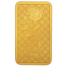 RSBL eCoins 1 gm Gold Bar 24 kt purity 999 Fineness-WITH TAX INVOICE