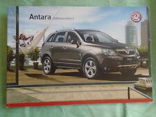 Vauxhall Antara brochure 2008 models Ed 2