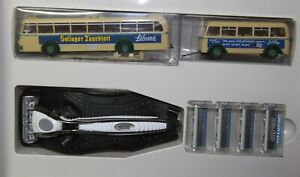 Wilkinson Jetzt kommen die Uerdinger Modelle in H0 - Bus mit Anhänger + Rasierer