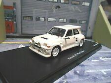RENAULT 5 Turbo R5 Maxi Rallye Gr.B 1985 Plainbody weiss white Schuco PRO 1:43