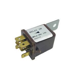 24V 6-Pin Relay MR5A-082 5-82550-046-0 For Komatsu PC20 PC45 PC128US  PC650 Kato