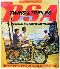 BSA TWINS & TRIPLES THE POSTWAR A7/A10, A50/65 AND ROCKET III, MOTORCYCLE BOOK