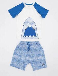 Infant Boys Adidas Originals Summer Set