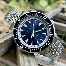 Dificiano 40mm Sunray Blue Dive Watch 40mm Marlin Sapphire Seiko NH35 Automatic