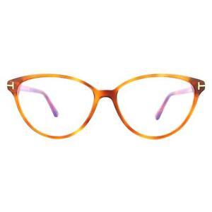 Tom Ford Glasses Frames FT5545-B 053 Blonde Havana Women