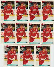 STEVE YZERMAN 11 CARD LOT 1992-93 BOWMAN HOCKEY # 103 DETROIT RED WINGS BV $44