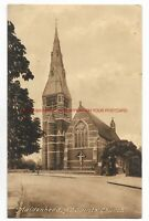 Berkshire Maidenhead All Saints Church 1936 Vintage Postcard 8.10