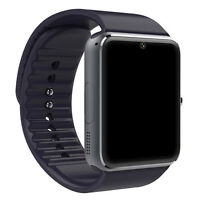 GT08 Touch Screen Bluetooth GSM Smart Wrist Watch Phone Mate For Android IOS USA
