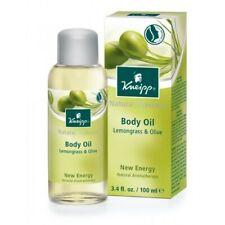 Kneipp Lemongrass & Olive Body Oil, New Energy 3.38 fl. Oz,