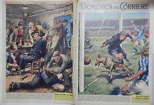 LA DOMENICA DEL CORRIERE 24 giugno 1962 Cane partita di calcio Marinai Berlino