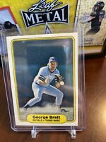 GEORGE BRETT Royals 1982 FLEER Baseball Card #405