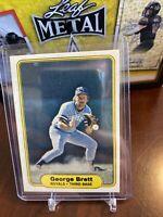 GEORGE BRETT Royals 1982 FLEER Baseball Card #405