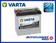 BATTERIA PER AUTO VARTA B24 12V 45AH 300A 219x136x225 FIAT 500 EPOCA VECCHIA