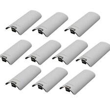 10X Battery Back Cover for Nintendo Wii Remote Gaming Controller White
