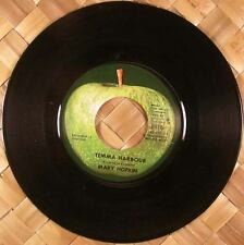 Beatles Mary Hopkin Temma Harbour MINT Apple 45