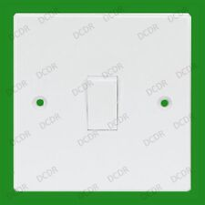 White 1 Gang 3 Way Intermediate Mains Wall Light Lamp Switch 10a 240v