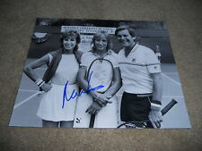 Martina Navratilova Sexy Signed Autographed Tennis Photo #2 Wimbeldon