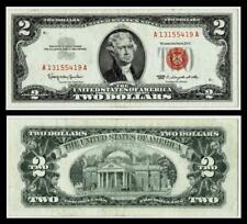 1963  $2 TWO DOLLAR RED SEAL NOTE~~VERY FINE