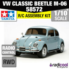 58572 TAMIYA VW CLASSIC BEETLE M-06 1/10th R/C KIT RC auto 1/10 NUOVO!