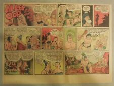 Alley Oop Sunday by VT Hamlin from 6/28/1953 Half Page Size