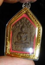 LP TIM PHRA KHUN PAEN TAPIAN FISH BUDDHA AMULET FROM THAILAND WATERPROOF CASE