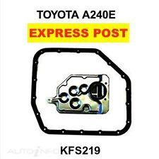 Transgold Auto Transmission Kit KFS219 Fits Toyota COROLLA AE112 A240L Trans