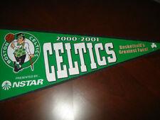 Boston Celtics 2000-01 NBA Basketball team 30 x 12 Felt Pennant, NSTAR PROMO!
