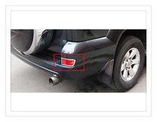 Chrome Rear Fog Light Lamp Cover Trims For Toyota PRADO FJ120 2003 - 2009