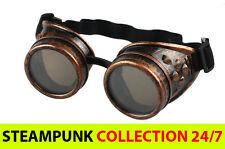Steampunk Goggles LADY GAGA Glasses - CYBER PUNK VINTAGE HIPSTER SCI-FI COSPLAY